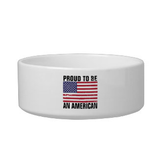 Proud to be an American - Patriotic Bowl
