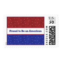 Proud to Be an American Postage