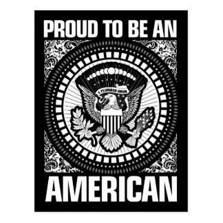 Proud To Be An American Postcard