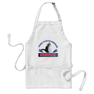 Proud To Be An American Shorthair Apron