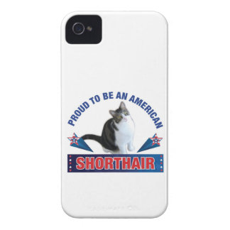 Proud To Be An American Shorthair Case iPhone 4 Case