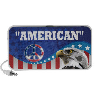 PROUD TO BE AN AMERICAN iPod SPEAKERS