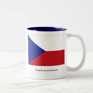 Proud to be an American Two-Tone Coffee Mug