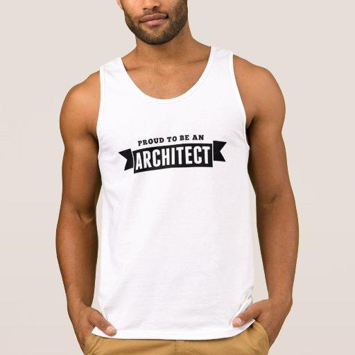 Proud To Be An Architect Tanktop Tank Tops, Tanktops Shirts