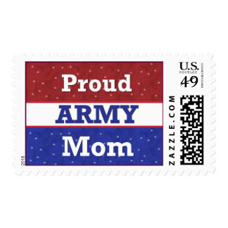 Proud to Be an Army Mom Postage Stamps