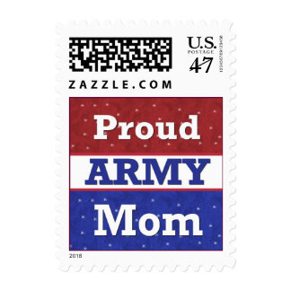 Proud to Be an Army Mom Postage