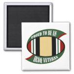 Proud To Be An Iraq Veteran Fridge Magnet