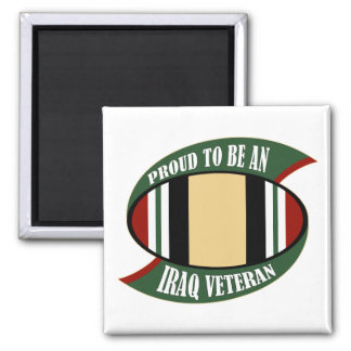 Proud To Be An Iraq Veteran Magnet