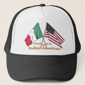 Proud To Be An Italian American Trucker Hat