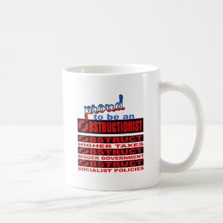 Proud to be an Obstructionist Coffee Mug
