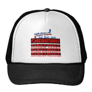 Proud to be an Obstructionist Trucker Hat