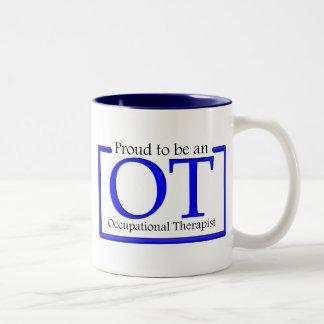 Proud to be an OT Two-Tone Coffee Mug