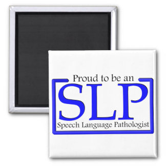 Proud to be an SLP 2 Inch Square Magnet