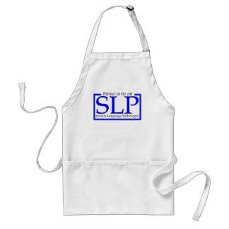 Proud to be an SLP Adult Apron