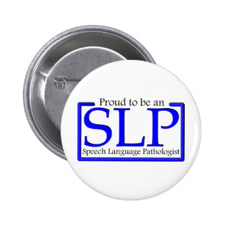 Proud to be an SLP Buttons