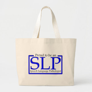 Proud to be an SLP Jumbo Tote Bag