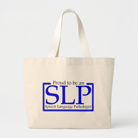 Proud to be an SLP Large Tote Bag