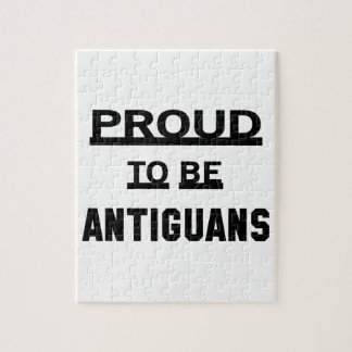 Proud to be Antiguans. Jigsaw Puzzle