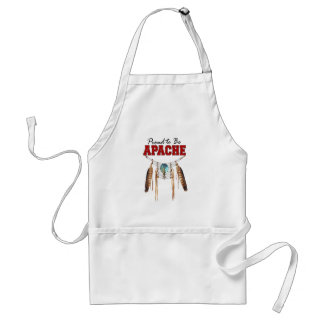 Proud to be Apache Adult Apron