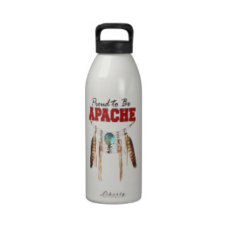 Proud to be Apache Reusable Water Bottles