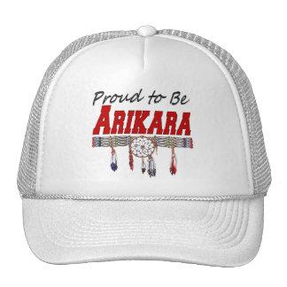 Proud to be Arikara Cap Trucker Hat