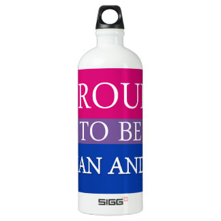 Proud To Be Asian and Bi Water Bottle
