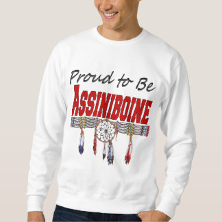 Proud to be Assiniboine Adult T-shirt