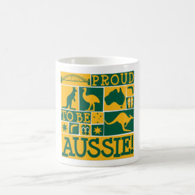 Proud to be Aussie Coffee Mug
