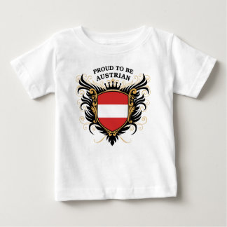 Proud to be Austrian Baby T-Shirt