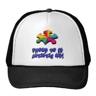 Proud to be Autistic me Hat