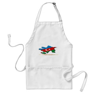 proud to be azeri 1 adult apron