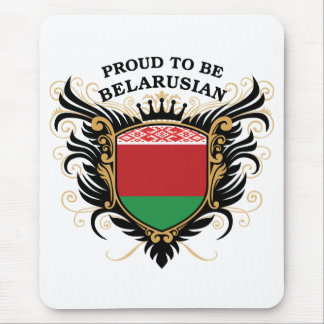 Proud to be Belarusian Mouse Pad