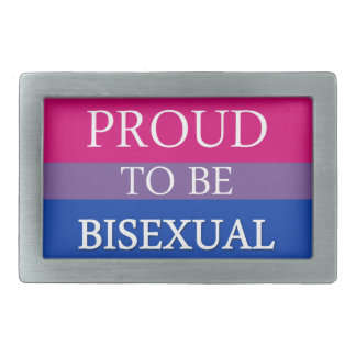 Proud To Be Bisexual Belt Buckle