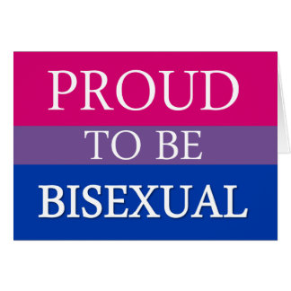 Proud To Be Bisexual Card