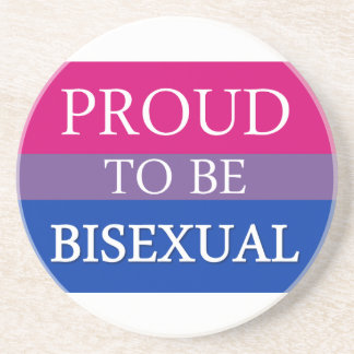 Proud To Be Bisexual Coaster