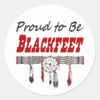 Proud to be Blackfeet Decals or Stickers