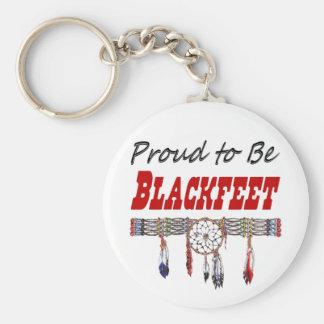 Proud to be Blackfeet Key Chain