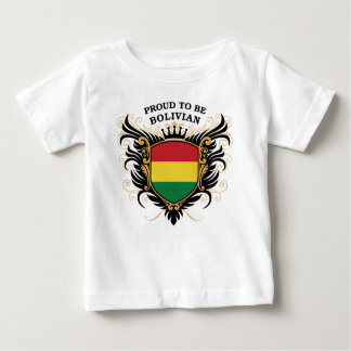 Proud to be Bolivian Baby T-Shirt