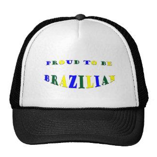 Proud to be Brazilian Trucker Hat