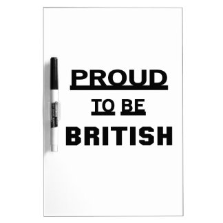 Proud to be British Dry-Erase Board