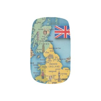 Proud To Be British On My Hands Minx® Nail Art