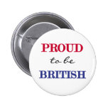 Proud To Be British Pins