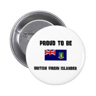 Proud To Be BRITISH VIRGIN ISLANDER Button