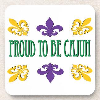 Proud To Be Cajun Beverage Coasters