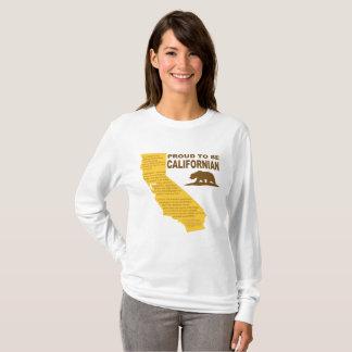 Proud to be Californian LongSleeve LT T-Shirt