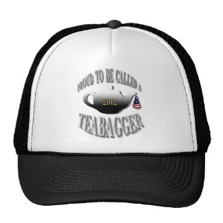 """""""PROUD TO BE CALLED A TEABAGGER"""" TRUCKER HAT"""