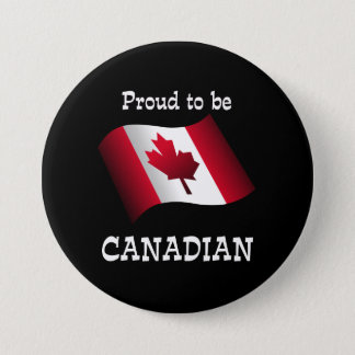 Proud to be Canadian Button
