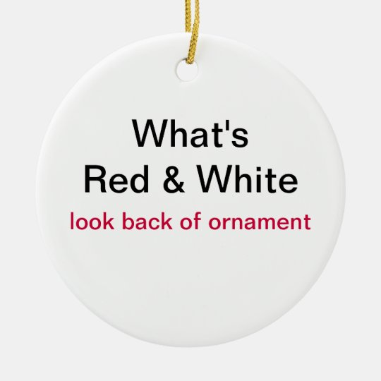 Proud to be Canadian Christmas Ornament