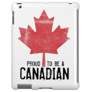 Proud to be Canadian Red Maple Leaf
