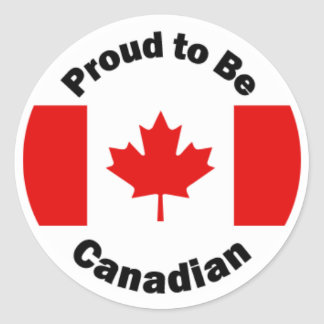 Proud to be Canadian Stickers
